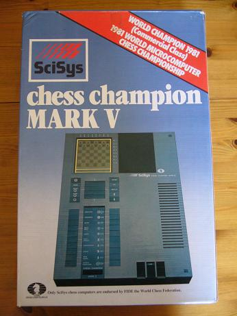 Chess Champion Mark V (English) 3 18 x 18
