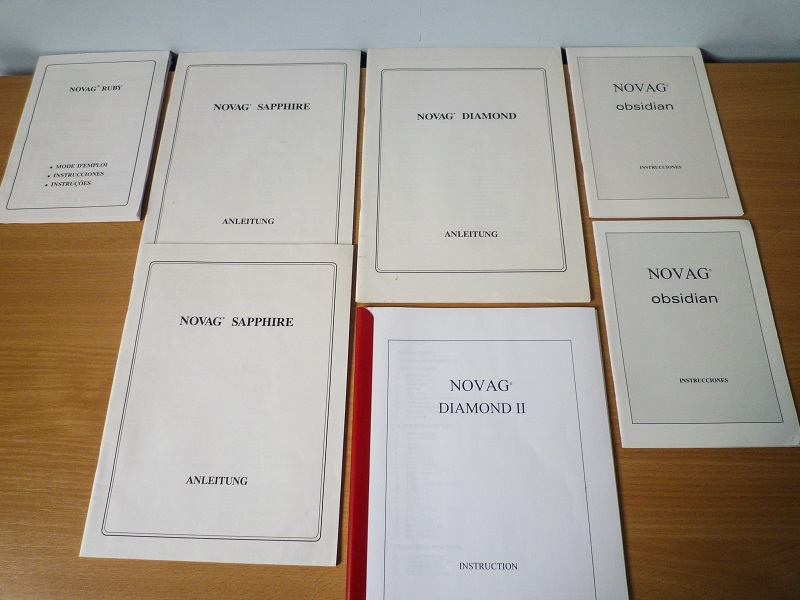 Novag Manuals 1 20 x 20