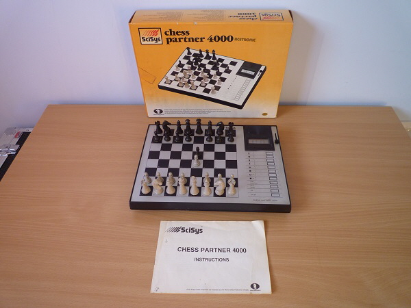 SciSys Chess Partner 4000 1 15 x 15